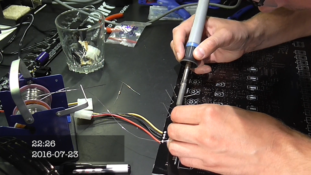 Building the Yocto #4 – Soldering the power supply