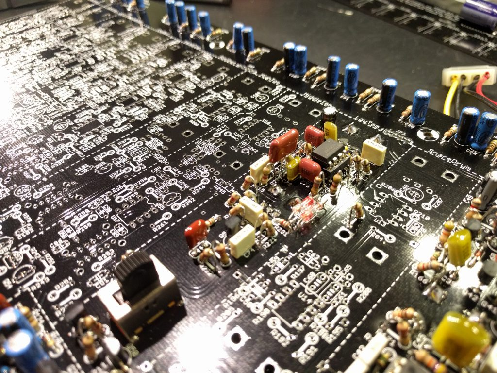 Building the Yocto #9 – Soldering the Low Tom