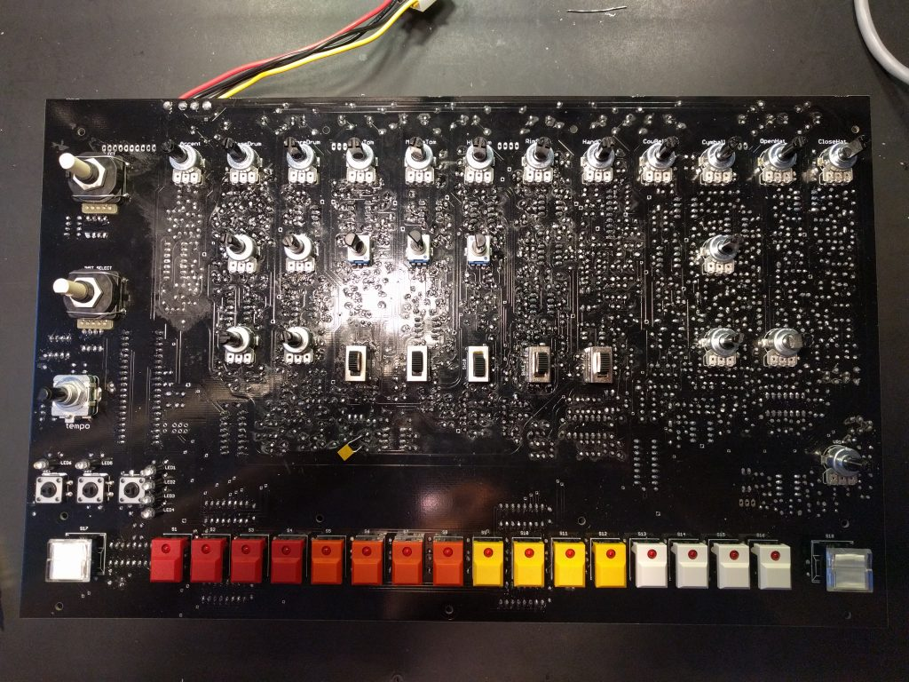 Building the Yocto #21 – Soldering the Sequencer