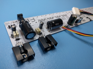 Building the Nava #1 – Soldering the Power Supply