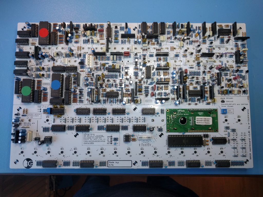 Building the Nava #15 – Soldering the Master Section & Startup