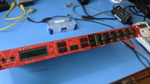 Access Virus Rack – Restarts Due To Bad Capacitor